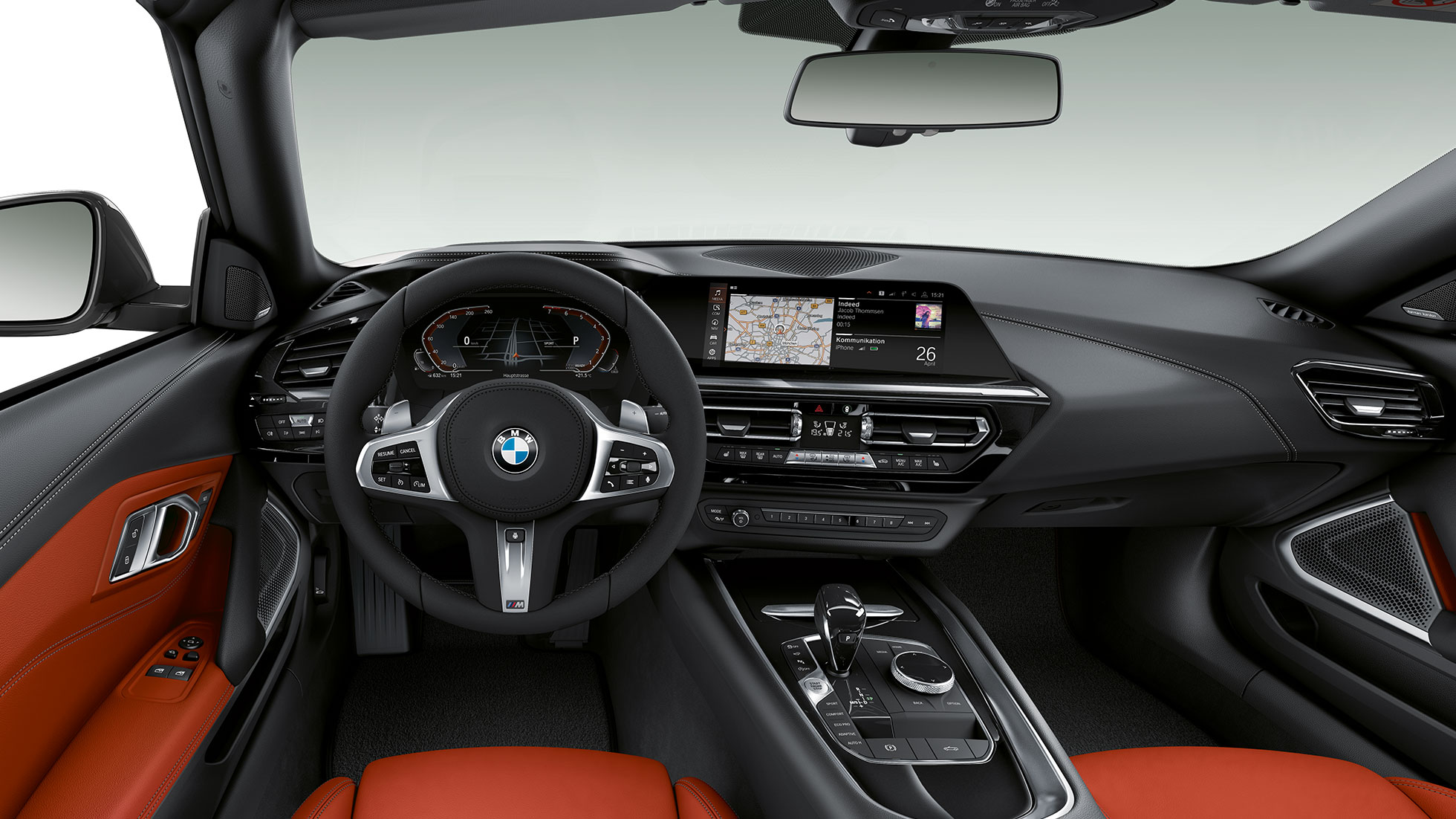 BMW Z4 Roadster model Sport Line, volan in kokpit