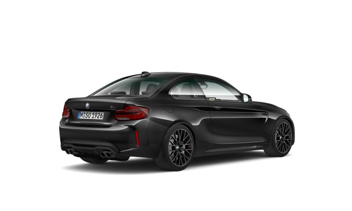 BMW M2 Competition rear